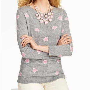 💕 Talbots Super Soft Heart Sweater - Large 💕